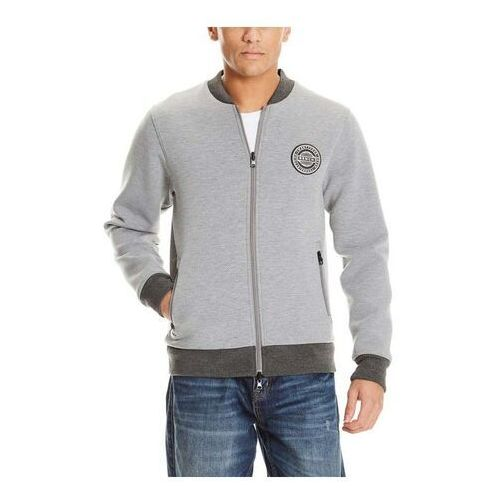 bluza BENCH - Bonded Bomber Sweatjacket Light Grey Marl Winter (MA1052) rozmiar: M, 1 rozmiar