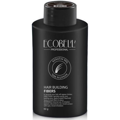Mikrowłókna do zagęszczania włosów Ecobell 99% keratyna 50g - Bombowa obniżka