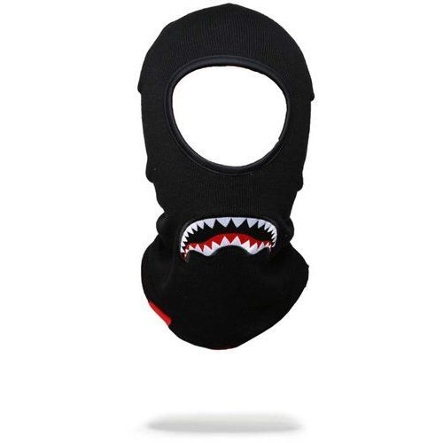 Sprayground Kominiarka - black sharkmouth ski mask (000)