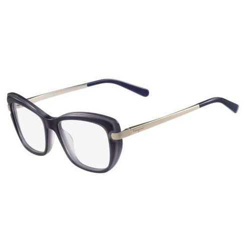 Salvatore ferragamo Okulary korekcyjne sf 2754 449