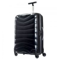 SAMSONITE średnia walizka z kolekcji FIRELITE 4 koła zamek szyfrowy z systemem TSA wykonane z materiału w opatentowanej technologii Curv, U72*002