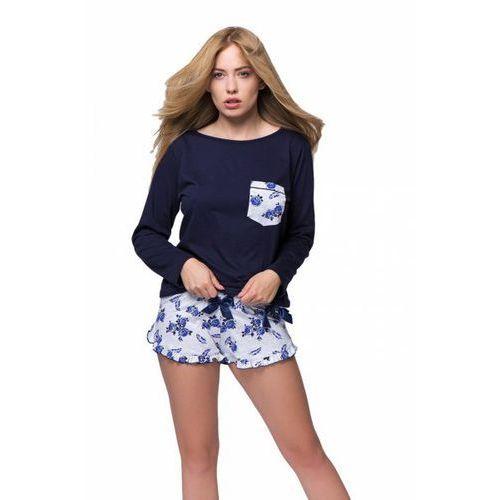 569e00288e117c If piżama damska milana długi rękaw szary (Italian fashion) opinie + ...