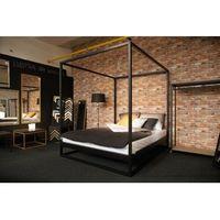 Łóżko z baldachimem 160x200 cm *Wyprzedaż ekspozycji*