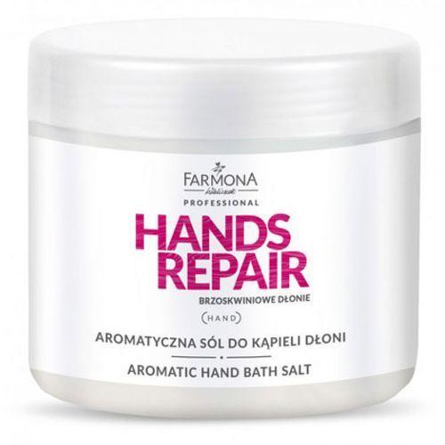 Farmona HANDS REPAIR Aromatyczna sól do kąpieli dłoni - Promocyjna cena