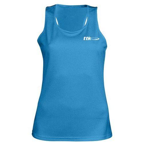 top capsule blue- koszulka tenisowa r. m marki Ttk