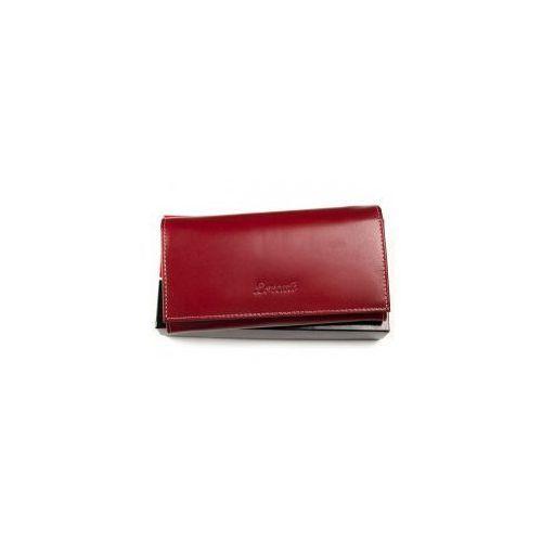 9e05eae17a148 Duży portfel damski skórzany Lorenti RD 13 BAL R czerwony, RD 13 BAL R -