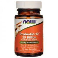 NOW FOODS Probiotic-10- 25 Billion- 50kap ODPORNO