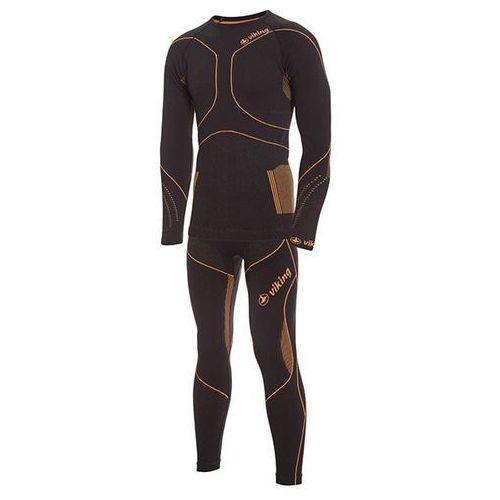 Męska bielizna termoaktywna (set) bruno czarny xl, Viking