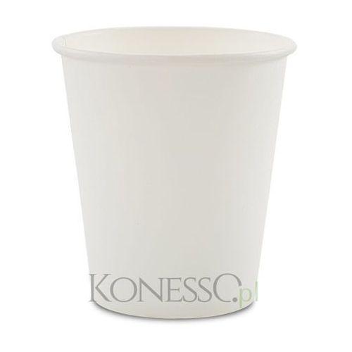 Kubki papierowe białe 180ml - 100szt