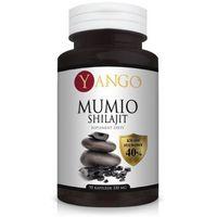 Mumio Shilajit YANGO - 40% kwasów fulwowych - 90 kapsułek