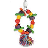 Cartwheel marki happypet - zabawka dla papug marki Hp birds