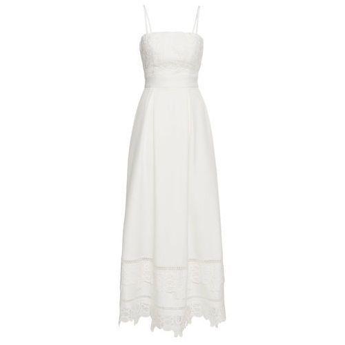 Sukienka ślubna biały Bonprix