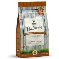 naturals puppy & junior - karma dla szczeniąt, młodych psów i suk w ciąży i okresie karmienia, 3,5 kg marki Bozita
