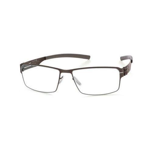 Okulary korekcyjne m1347 jürgen h. graphite Ic! berlin