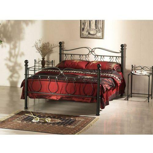łóżko Marquise 160 200 Cm Metal O Wyglądzie Kutego żelaza Vente Unique