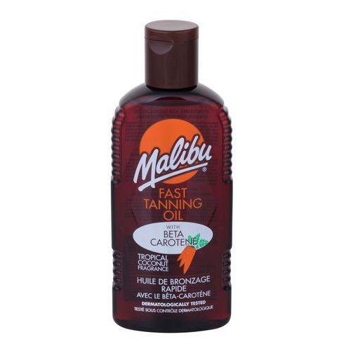 Malibu Fast Tanning Oil preparat do opalania ciała 200 ml dla kobiet - Najtaniej w sieci