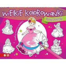 Zielona sowa Wielkie kolorowanki. księżniczki w.2015