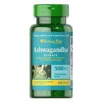 Puritan's Pride Ashwagandha Ekstrakt 500 mg 60 kaps.