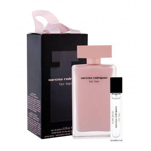 for her zestaw edp 100 ml + edp pure musc 10 ml dla kobiet marki Narciso rodriguez
