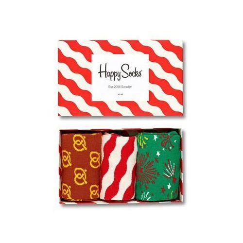 Skarpetki Happy Socks Gift Box Świąteczny 3 pak XMAS08 4001 7333102065596