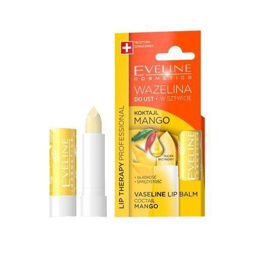 Eveline lip therapy wazelina do ust w sztyfcie wygładzająca koktajl mango 1szt Eveline kolorowka - Świetna przecena