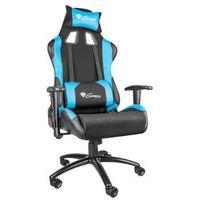 Fotel GENESIS Nitro 550 Czarno-niebieski