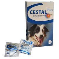 tabletki odrobaczające dla psa: opakowanie - 1 sztuka marki Cestal