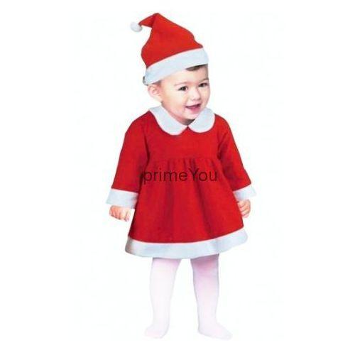 """Strój """"Mała Mikołajka"""", Śnieżynka dla dzieci 6-12 miesięcy, NW-SMMI"""