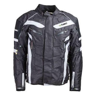 da2fc2ee101e6 W-tec Męska kurtka motocyklowa wodoodporna domorado nf-2116, czarno-biały,  xl inSPORTline Polska