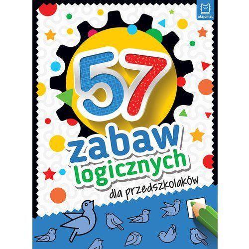 57 zabaw logicznych dla przedszkolaków, oprawa broszurowa