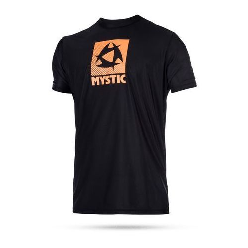 Lycra Mystic Star Quick dry S/S 2017 - Black/Orange