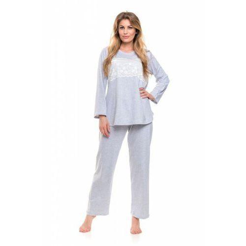 fd9d32742e61d1 Zobacz w sklepie Dobranocka 9146 grey melange piżama damska Dn-nightwear