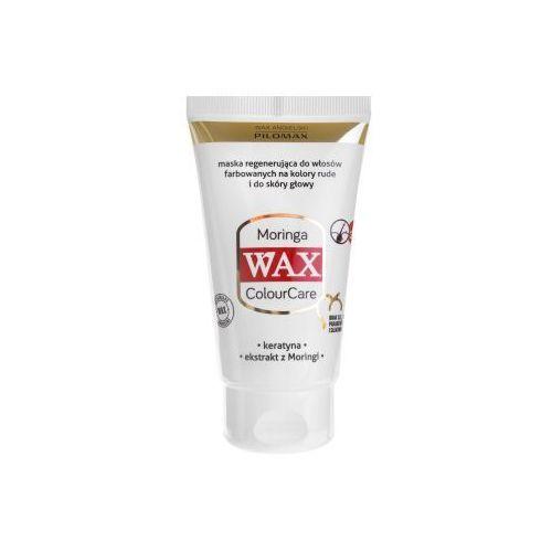 Wax angielski pilomax Wax maska regenerująca moringa do włosów farbowanych na kolory rude wax colourcare 70 ml