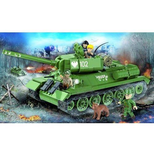 Armia T34/85 Rudy 530 klocków