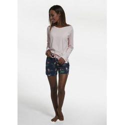 189/206 roses 3 trzyczęściowa piżama damska marki Cornette