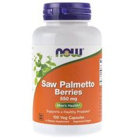 Now Foods Saw Palmetto Berries (Palma Sabałowa) 550 mg - 100 kapsułek