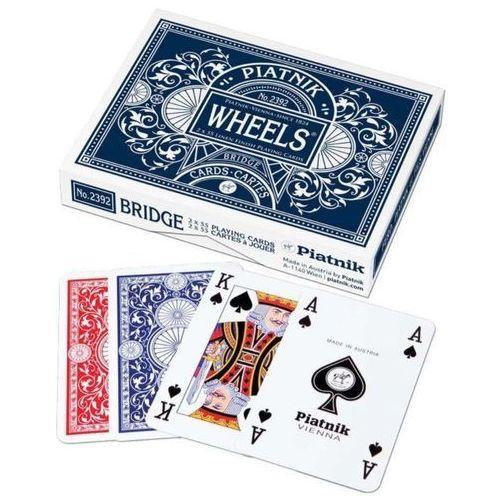 Piatnik Karty podwójne wheels - darmowa dostawa od 250 zł!! (9001890239236)