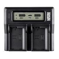 ładowarka lcd dual charger do lp-e8 - produkt w magazynie - szybka wysyłka! marki Newell