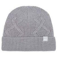 czapka zimowa BENCH - Fishermans Interest Rib Beanie Dark Grey Marl Winter (MA1053)