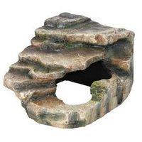 skałka narożna z jaskinia i platformą 19 x 17 x 17 cm marki Trixie