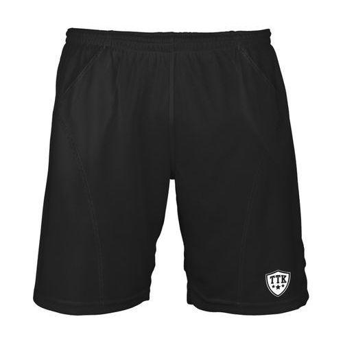 t-shorts iridium black - spodenki tenisowe r. xl marki Ttk