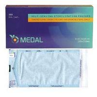 Torebki/torebka do sterylizacji 135x250mm samoprzylepne 200sztuk marki Medal s.c