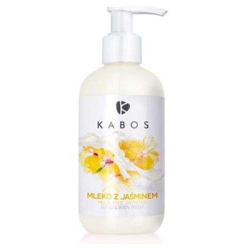 Hand & body fresh milk and jasmine orzeźwiający balsam do dłoni i ciała (mleko z jaśminem) Kabos - Najlepsza oferta