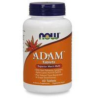 Tabletki Kompleks witamin i minerałów NOW Foods Adam 60 tab Najlepszy produkt