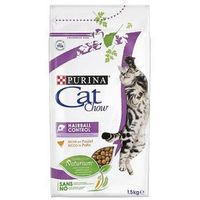 1,5 kg Purina Cat Chow + pakiet próbny Gourmet Gold, 4 x 85 g gratis! - Adult Special Care Hairball Control