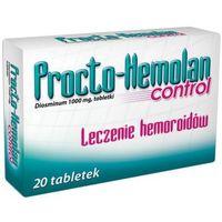 PROCTO-HEMOLAN Control 1000mg x 20 tabletek