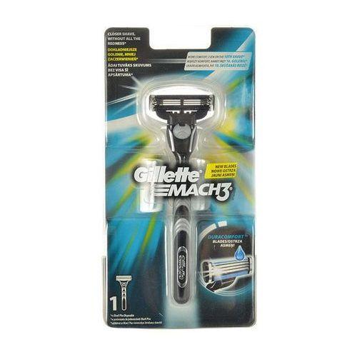 Gillette mach3 maszynka do golenia 1 szt dla mężczyzn - Sprawdź już teraz