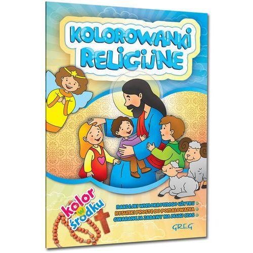 Kolorowanki religijne - Mróz Jolanta