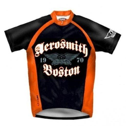 AEROSMITH Boston - koszulka rowerowa UNIKAT!