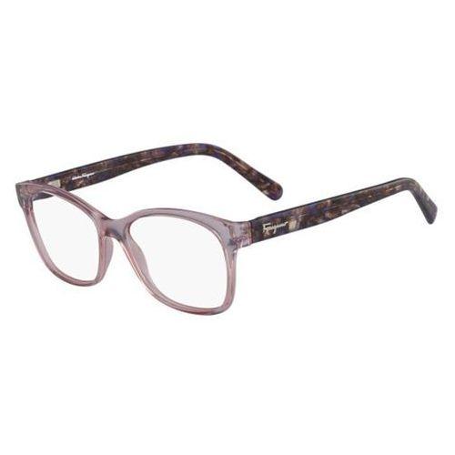 Salvatore ferragamo Okulary korekcyjne sf 2797 643